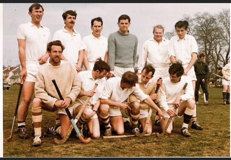 John Sharpe (pictured back left)